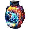 3D All Over Printed Pisces Zodiac T Shirt Hoodie 40106