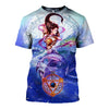 3D All Over Printed Pisces Zodiac T Shirt Hoodie 40107