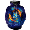 3D All Over Printed Pisces Zodiac T Shirt Hoodie 40109