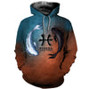 3D All Over Printed Pisces Zodiac T Shirt Hoodie 401010