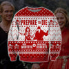 Princess Bride Funny KNITTING PATTERN 3D PRINT UGLY CHRISTMAS SWEATER