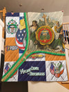 ANCIENT ORDER OF HIBERNIANS PREMIUM QUILT 1