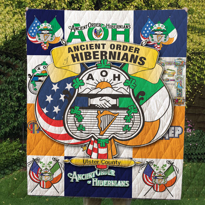 ANCIENT ORDER OF HIBERNIANS PREMIUM QUILT