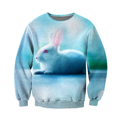 3D All Over Printed Rabbit T Shirt Hoodie 131202