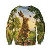 3D All Over Printed Rabbit T Shirt Hoodie 131208