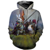 3D All Over Printed Rabbit T Shirt Hoodie 1312011