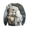 3D All Over Printed Rabbit T Shirt Hoodie 1312013