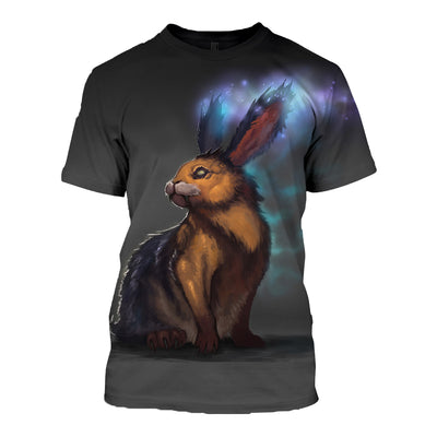 3D All Over Printed Rabbit T Shirt Hoodie 1312014