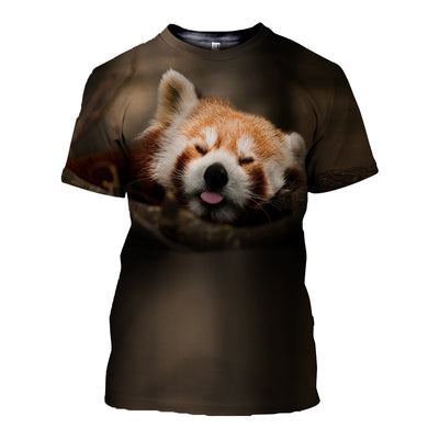 3D All Over Printed Raccoon T Shirt Hoodie 11121