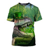 3D All Over Printed Dinosaur Patrick Day T Shirt Hoodie