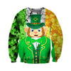 3D All Over Printed Monkey Patrick Day T Shirt Hoodie