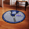 Phi Beta Sigma Christmas Round Carpet 31102019