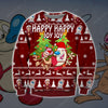 Ren And Stimpy KNITTING PATTERN 3D PRINT UGLY CHRISTMAS SWEATER