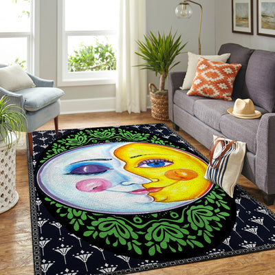 HIPPIE WONDERFUL THE SUN AND THE MOON AREA RUG