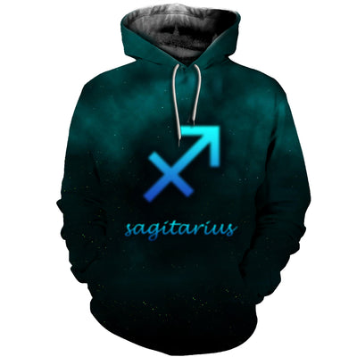 3D All Over Printed Sagittarius Zodiac T Shirt Hoodie 291209