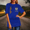 Sigma Gamma Rho Crew Neck Velvet Top Short Sleeve T-Shirt
