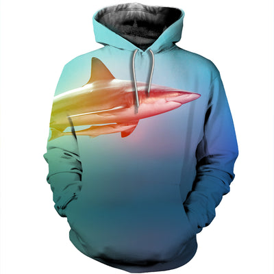 3D All Over Printed Shark T Shirt Hoodie 1812
