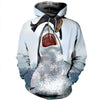 3D All Over Printed Shark T Shirt Hoodie 18128