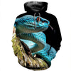 3D All Over Printed Snake T Shirt Hoodie 1512