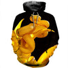 3D All Over Printed Snake T Shirt Hoodie 15126