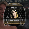 SPICOLI KNITTING PATTERN 3D PRINT UGLY CHRISTMAS SWEATER