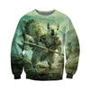 3D All Over Printed Squirrel T Shirt Hoodie 151202