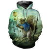 3D All Over Printed Squirrel T Shirt Hoodie 151204