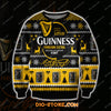 GUINNESS FOREIGN EXTRA BEER 3D ALL OVER PRINT UGLY CHRISTMAS SWEATSHIRT