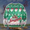 LEINENKUGEL'S BEER KNITTING PATTERN 3D PRINT UGLY SWEATSHIRT 1