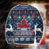 MOLSON CANADIAN BEER KNITTING PATTERN 3D PRINT UGLY SWEATSHIRT