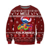 Stitch KNITTING PATTERN 3D PRINT UGLY CHRISTMAS SWEATER