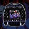 SKELETOR KNITTING PATTERN 3D PRINT UGLY CHRISTMAS SWEATER