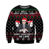 Your Party's So lame KNITTING PATTERN 3D PRINT UGLY CHRISTMAS SWEATER