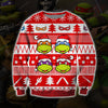 Ninja Turtles KNITTING PATTERN 3D PRINT UGLY CHRISTMAS SWEATER