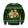 HE-MAN & SHE-RA KNITTING PATTERN 3D PRINT UGLY CHRISTMAS SWEATER