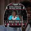 Mr. Randy Watson KNITTING PATTERN 3D PRINT UGLY SWEATER