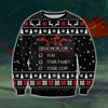 Dishonor On You KNITTING PATTERN 3D PRINT UGLY SWEATER