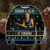 Darmok And Jalad At Tanagra KNITTING PATTERN 3D PRINT UGLY SWEATER