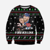 DALE EARNHARDT KNITTING PATTERN 3D PRINT UGLY SWEATER