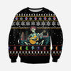 GRATEFUL DEAD KNITTING PATTERN 3D PRINT UGLY SWEATER 1