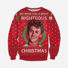 FUNNY BILL KNITTING PATTERN 3D PRINT UGLY SWEATER