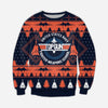 TOP GUN KNITTING PATTERN 3D PRINT UGLY SWEATER