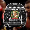 MIKE TYSON KNITTING PATTERN 3D PRINT UGLY SWEATER