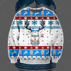 BUSCH BEER KNITTING PATTERN 3D PRINT UGLY CHRISTMAS SWEATER