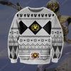 POWER RANGERS KNITTING PATTERN 3D PRINT UGLY SWEATER