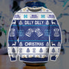 DILLY DILLY BUD LIGHT KNITTING PATTERN 3D PRINT UGLY SWEATER