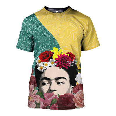 3D FULL OVER PRINTED OF MEXICAN PAINTER FRIDA KAHLO 29720203