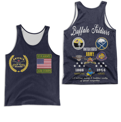 3D ALL OVER PRINT BUFFALO SOLDIERS CLOTHING 29062020
