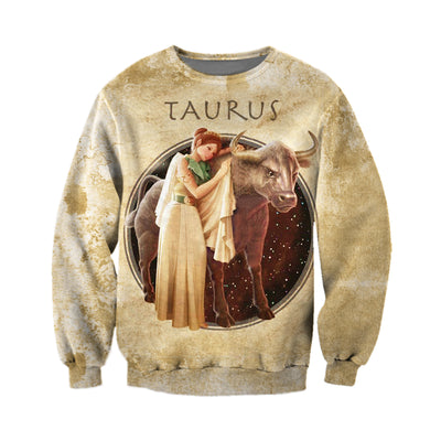 3D All Over Printed Taurus Zodiac T Shirt Hoodie 211201