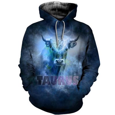 3D All Over Printed Taurus Zodiac T Shirt Hoodie 211203